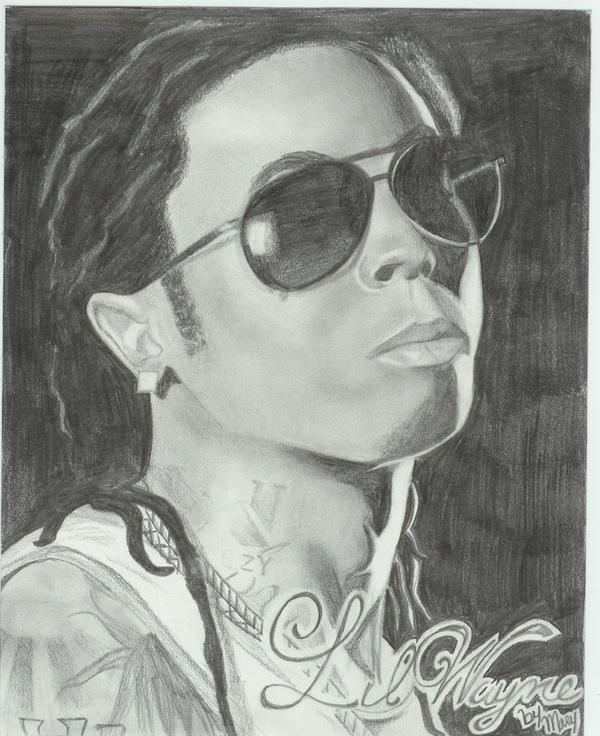 Pencil Drawings Of Lil Wayne lil Wayne by Kizumo-ch...