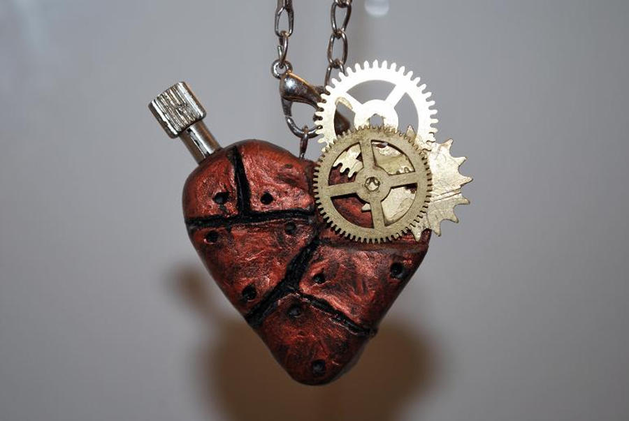Steampunk Heart by Mirish on DeviantArt