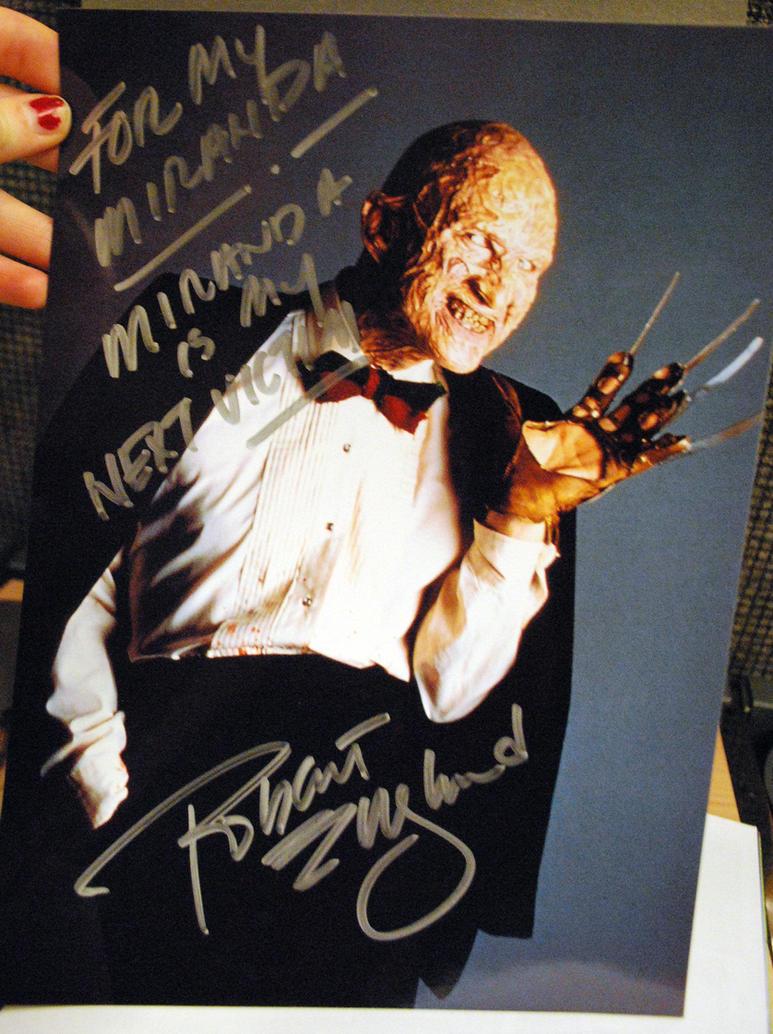 Robert Englund signed photo by Mirish
