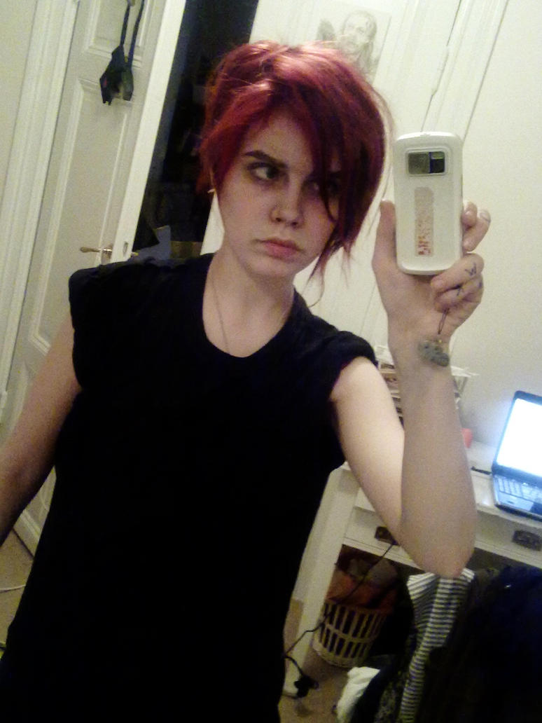 Gerard Way Cosplay By Mirish On Deviantart