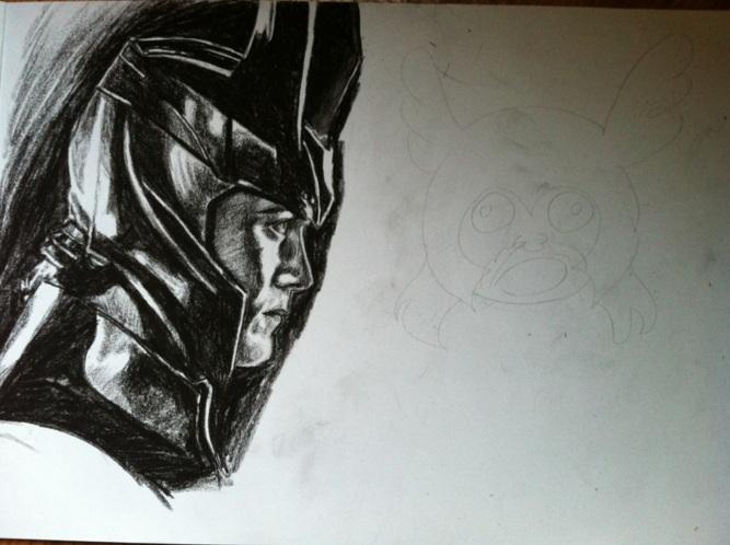 Loki and Thor WIP by Mirish
