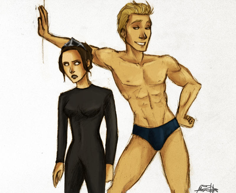 hunger games gale oc fanfiction