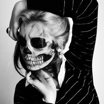 Skeleton of Lady Gaga 1 by Mirish