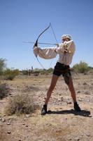 In the desert - stock by Mirish