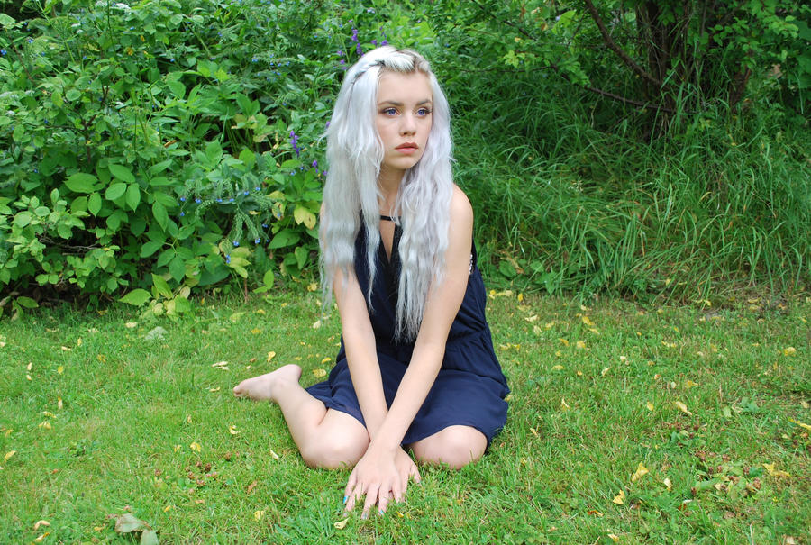 Silver Girl 7 - stock by Mirish