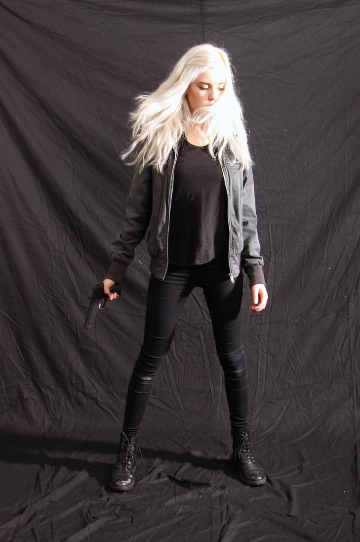 Dauntless - Action Heroine stock 7 by Mirish