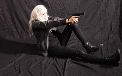Dauntless - Action Heroine stock 13