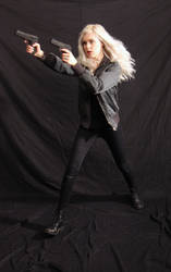 Dauntless - Action Heroine stock 16