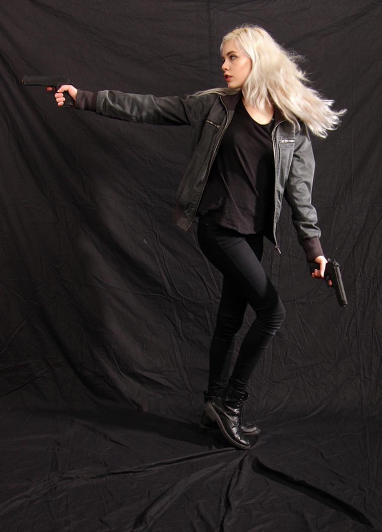 Dauntless - Action Heroine stock 20 by Mirish