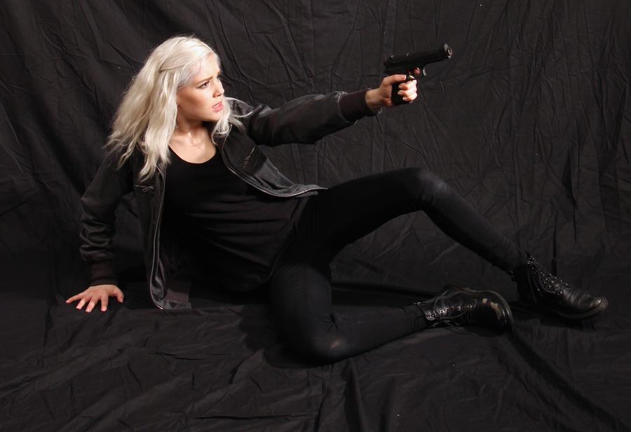 Dauntless - Action Heroine stock 26 by Mirish