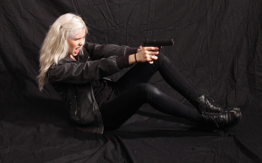 Dauntless - Action Heroine stock 27 by Mirish