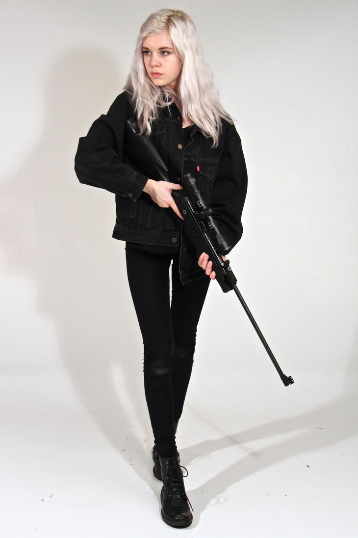 Dauntless - Female stock 4 by Mirish