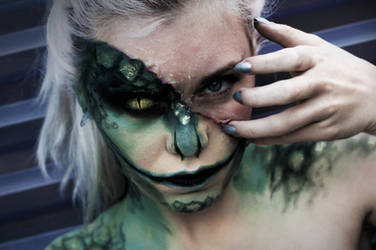 The Lizard - Marvel Makeup