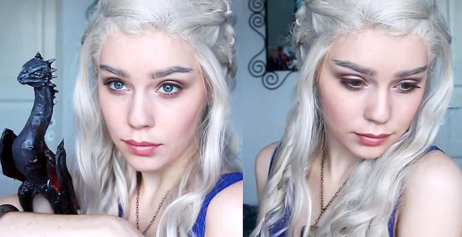 Daenerys targaryen cosplay makeup tutorial by mirish on for Daenerys targaryen costume tutorial