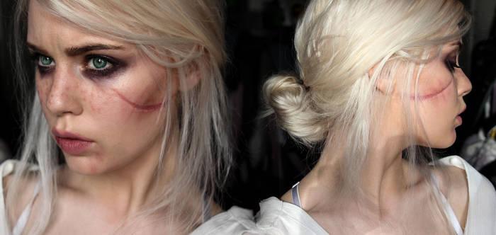Ciri - The Witcher 3 Makeup Test
