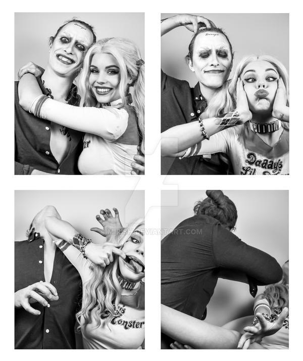 Harley and Joker - Photobooth (Ver 1) by Mirish