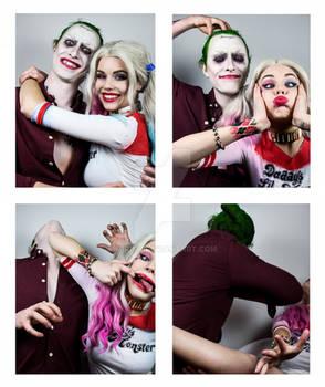 Harley and Joker - Photobooth (Ver 2)