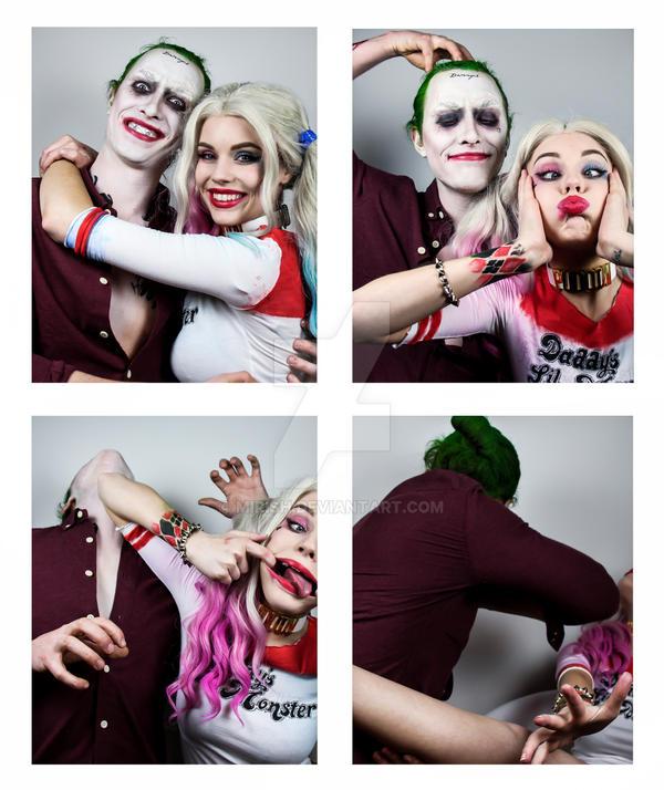 Harley and Joker - Photobooth (Ver 2) by Mirish