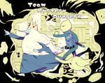 Team Mystery Dungeon by Monou-Taharu
