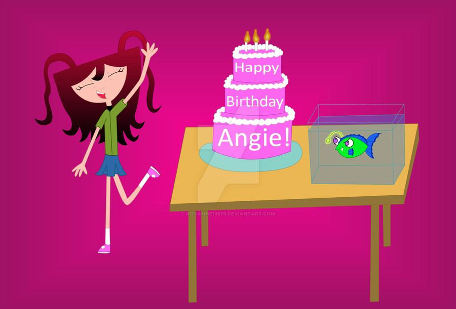 Happy Birthday Angie By Roxanne13579 On Deviantart