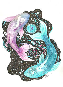 The Myth behind the Zodiac: Pisces