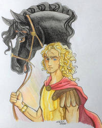 Alexander the Great and Bucephalus