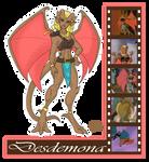 Gargoyle Study: Desdemona