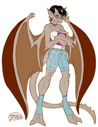 Gargoyles OC: Adrianne by NikkiBeesHive