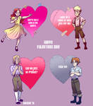 A very black forest valentines by sw