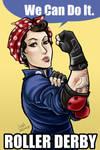 Rosie the derby gal