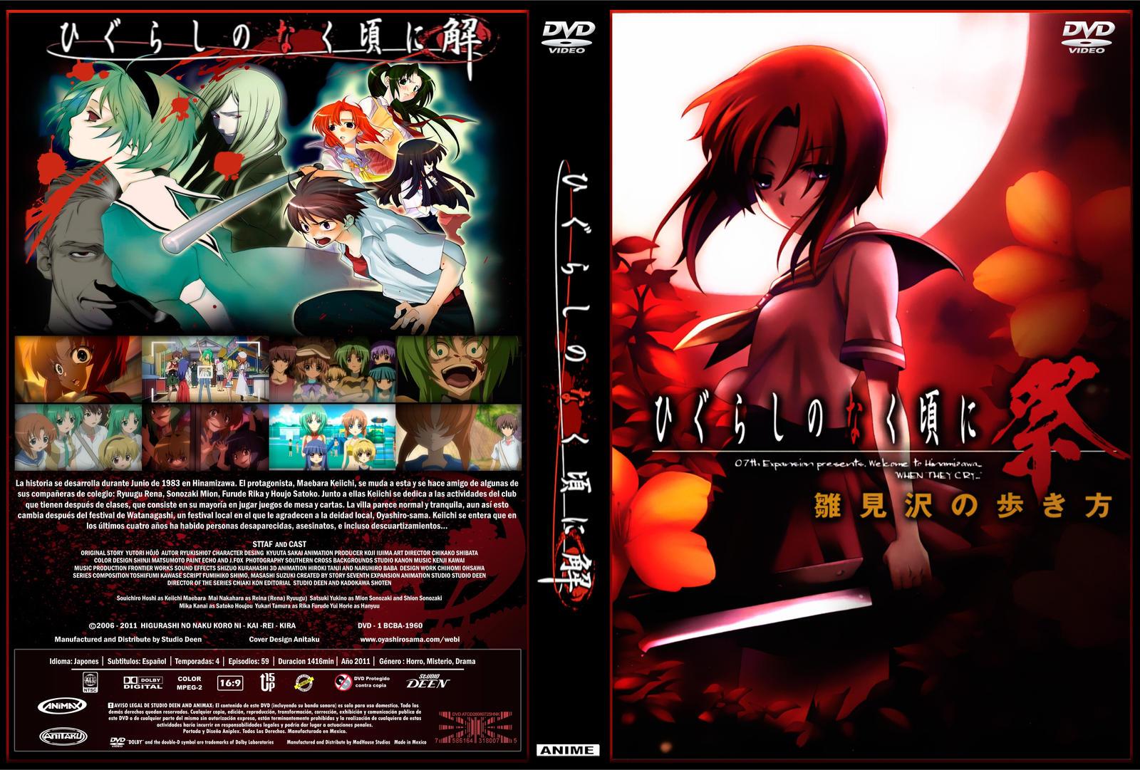 Cover Serie Higurashi No Naku Koro Ni By Dante Shinomori On Deviantart