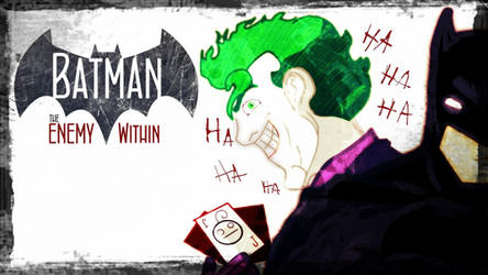 Cry Plays: Batman - The Enemy Within by BlueM0nki