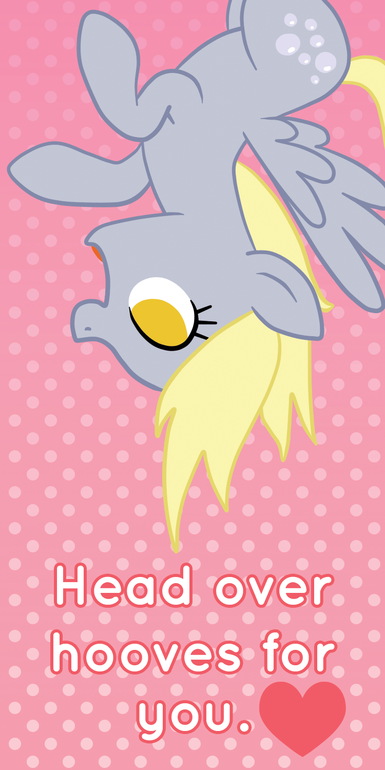 Derpy Hooves Valentine's Day Card by Happbee