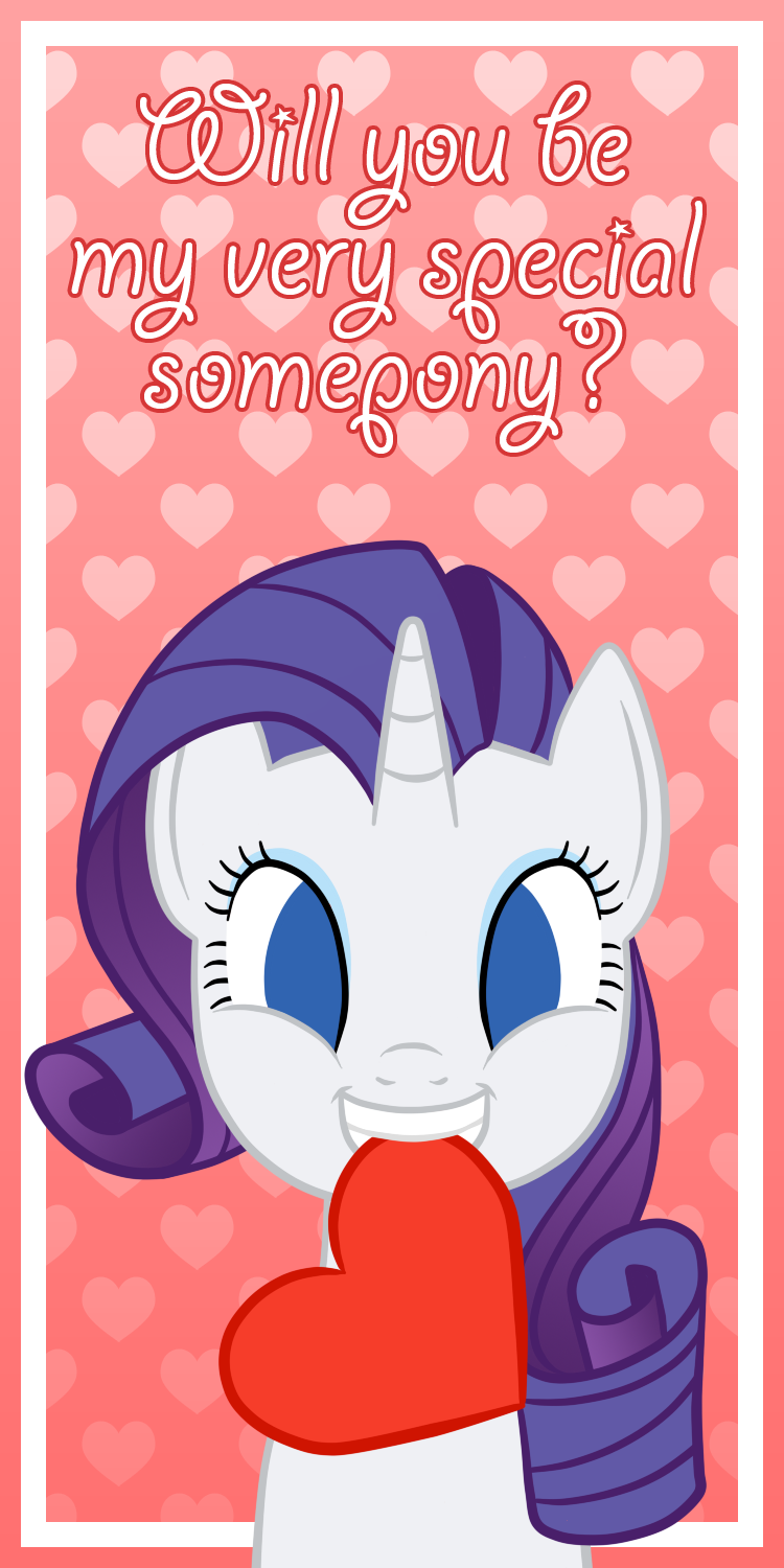 Very Special Somepony - Rarity by Happbee