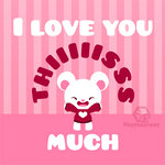 I love you thiiiiisss much