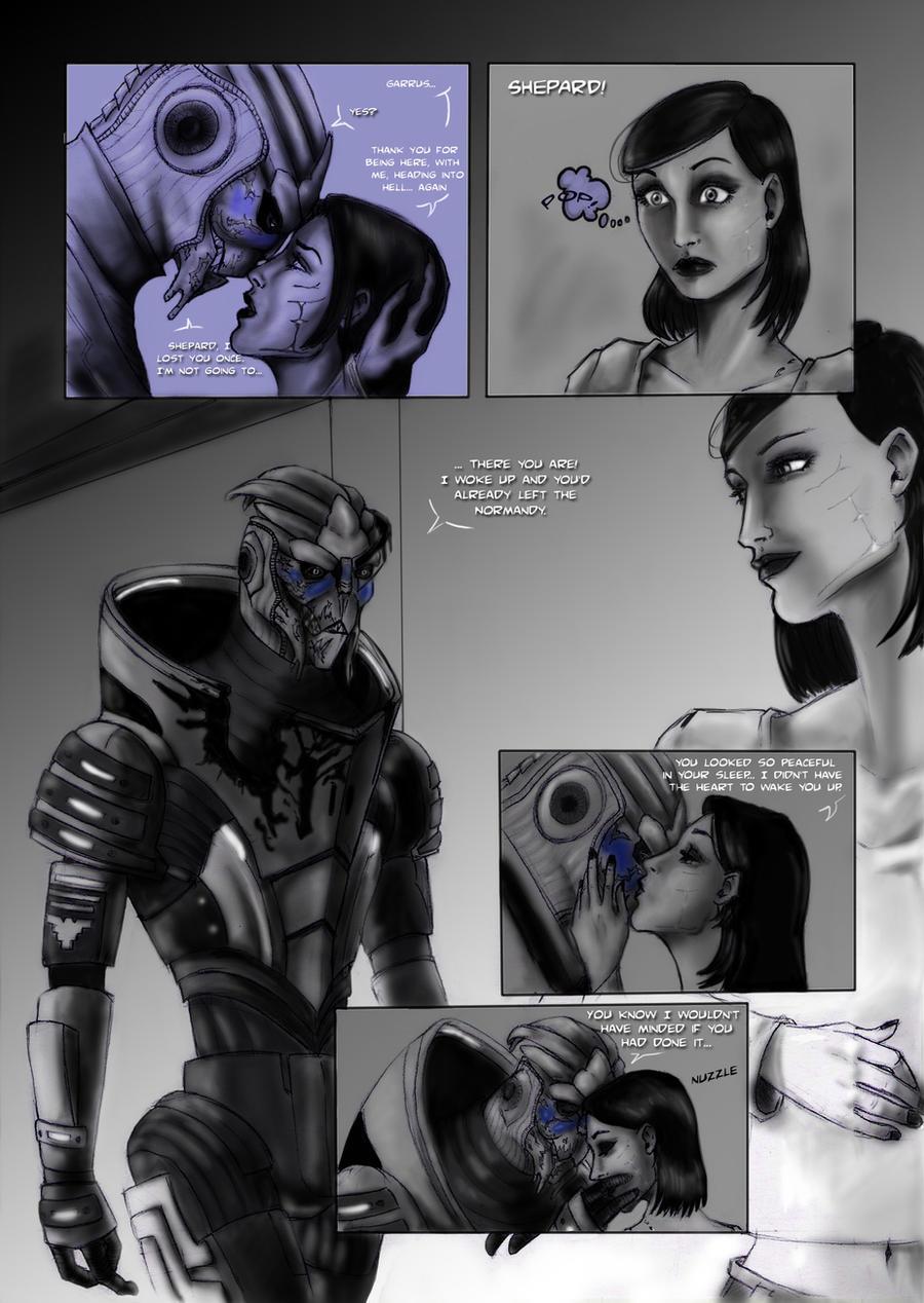 Кварианка и Азари в инопланетном порно Масс эффект