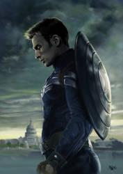 Captain America - Winter Soldier by ErsbethShadowsong
