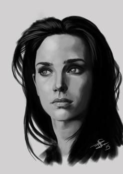 Jennifer Conelly - Portrait