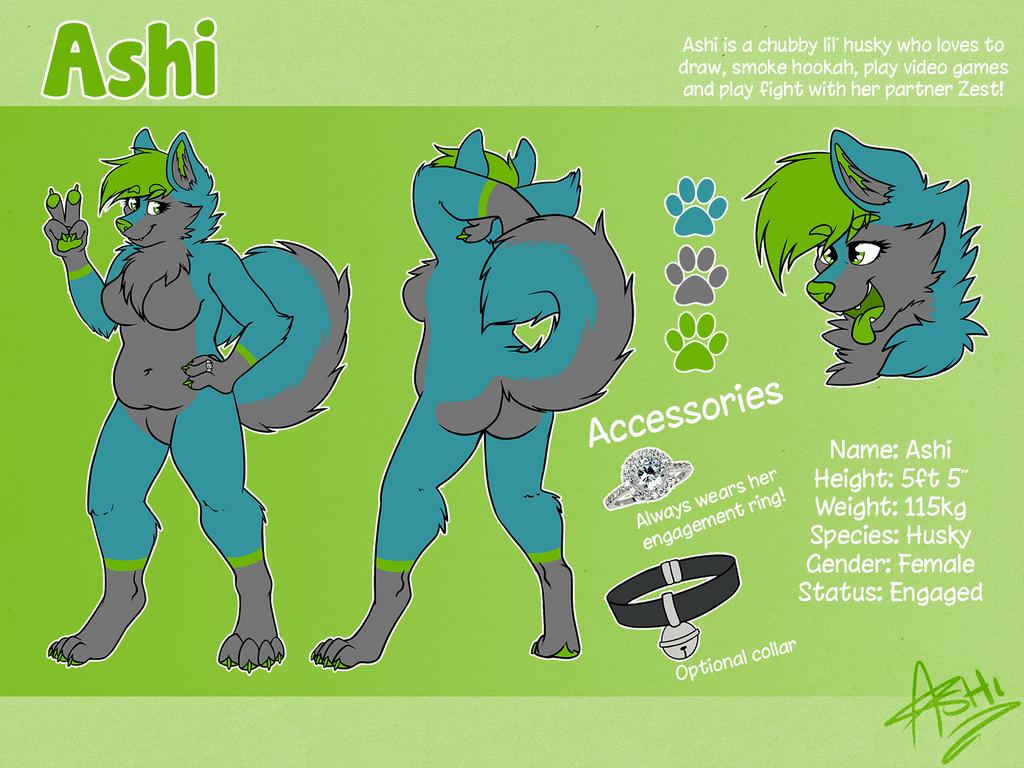 Ashi Reference [V2] by LaydeeKaze