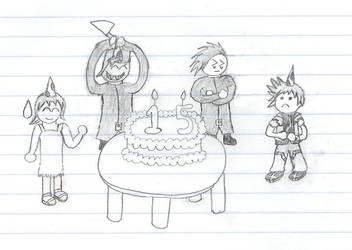 Birthday Sketch