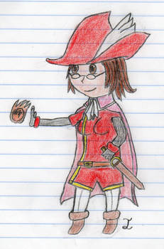 Embla the Red Mage