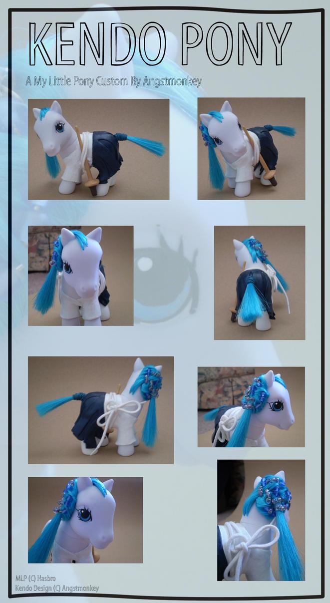 Kendo supersaen Pony by angstmonkey