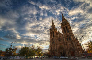 St Peters Cathedral HDR by Aquilapse