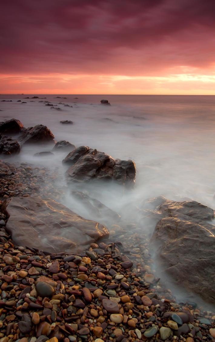 Glow @ Marino Rocks by Aquilapse