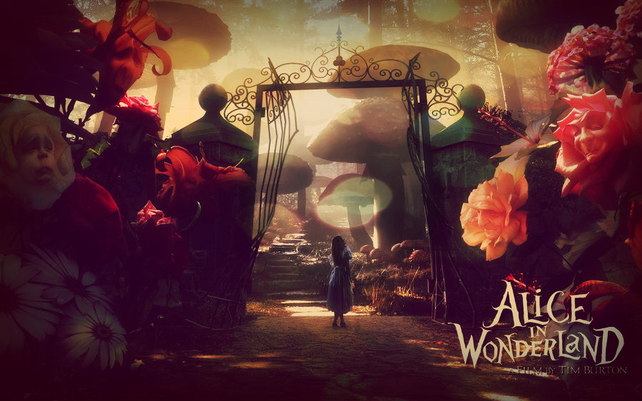 Alice In Wonderland Wallpaper By SwallowInHeaven