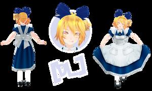 [MMD] TDA Neru Alice (DL) by HeyMisaki-chan
