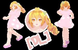 [MMD] TDA Summer Neru (DL) by HeyMisaki-chan
