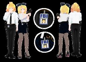 [MMD] FBI...(3) X3 by HeyMisaki-chan