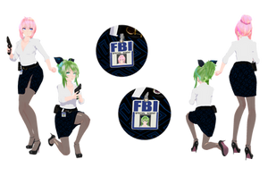 [MMD] FBI...(5) X3 by HeyMisaki-chan
