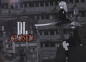 [MMD] TDA Nier Automata 2N and 9L (DL CLOSED) by HeyMisaki-chan